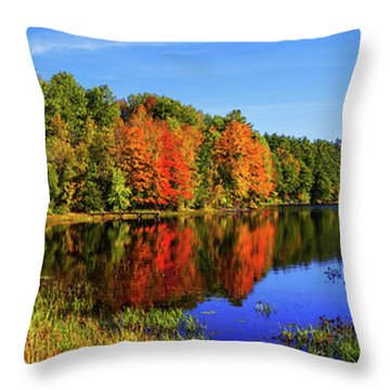 Throw Pillow featuring the photograph Incredible Pano by Chad Dutson