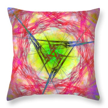 Incrusaded Throw Pillow