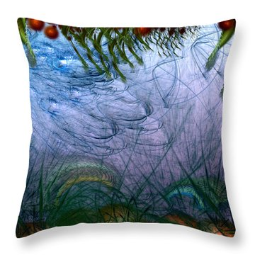 Incursion Into The Inversion Throw Pillow by Casey Kotas