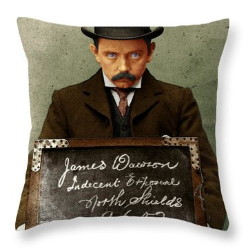 Indecent Exposure Throw Pillow