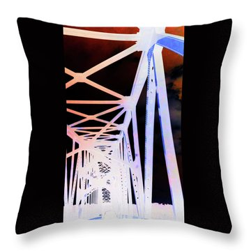 Throw Pillow featuring the photograph Indefinite Sight In by Jamie Lynn