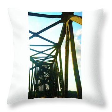 Throw Pillow featuring the photograph Indefinite Sight by Jamie Lynn