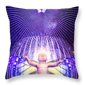 Indego Throw Pillow by Robby Donaghey