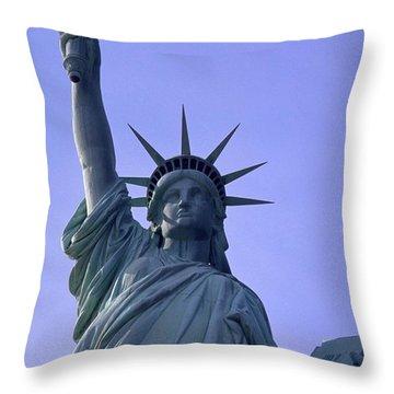 Independence Day Usa Throw Pillow