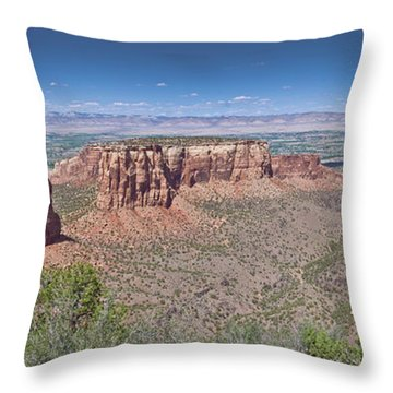 Independence Pano Throw Pillow