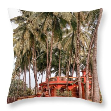 India House Throw Pillow