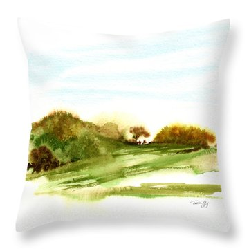 Indian Hill Groton Ma Throw Pillow