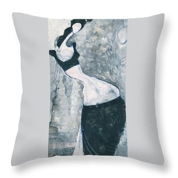 Indian Lady Throw Pillow