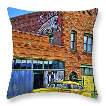 Indian Motocycle Co. Throw Pillow