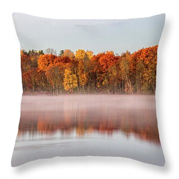 Indian Point Morning Throw Pillow