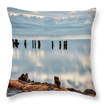Indian River Morning Throw Pillow