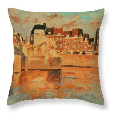 Indian Summer Light Maastricht Throw Pillow