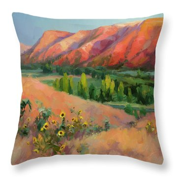 Indian Hill Throw Pillow