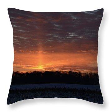 Indiana Evening Throw Pillow