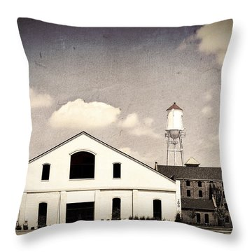 Indiana Warehouse Throw Pillow