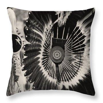 Indigenous 2 Throw Pillow by David Gilbert