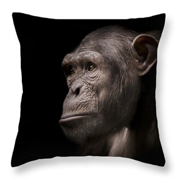 Indignant Throw Pillow by Paul Neville