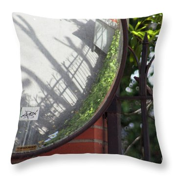 Indirect Nature Throw Pillow