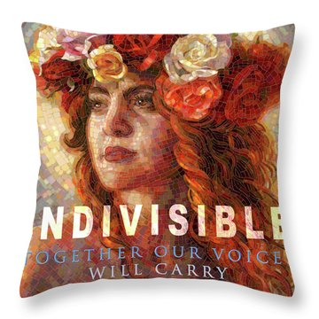 Indivisible Throw Pillow