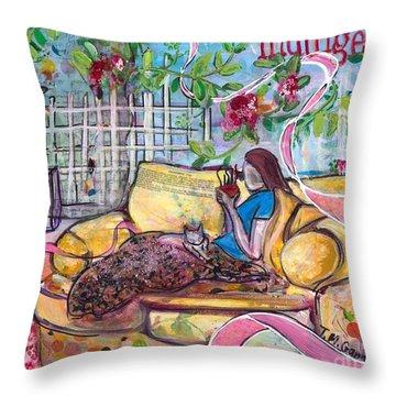 Indulge Throw Pillow