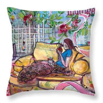 Indulge Throw Pillow