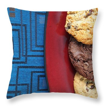Indulgent Throw Pillow by Tom Druin