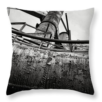 Industrial Carnival  Throw Pillow