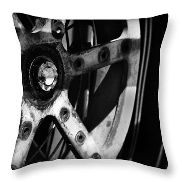 Industrial Gear Throw Pillow