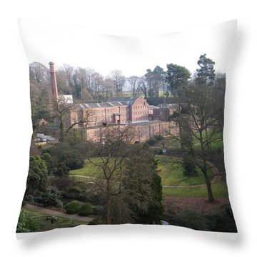 Industrial Heritage Throw Pillow