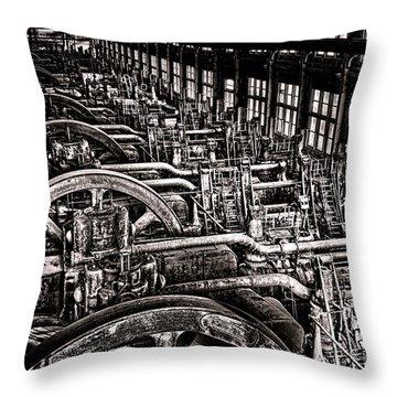 Industrial Revolution  Throw Pillow