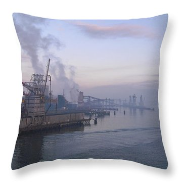 Industrial Throw Pillow by Svetlana Sewell