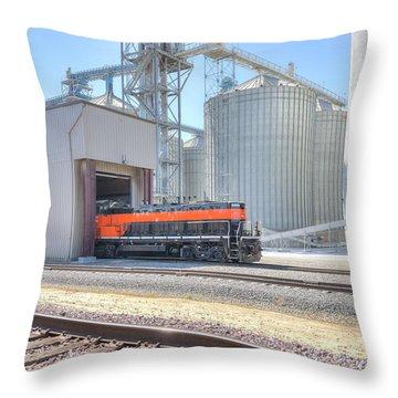 Industrial Switcher 5405 Throw Pillow