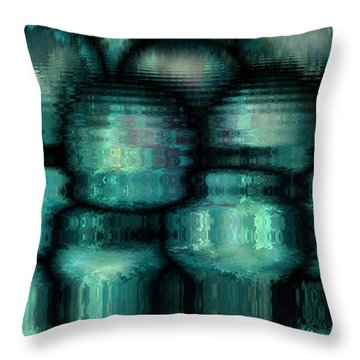 Industrial View Throw Pillow by Rafi Talby