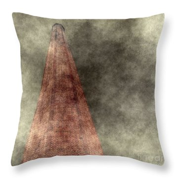 Industrialization Concept Throw Pillow