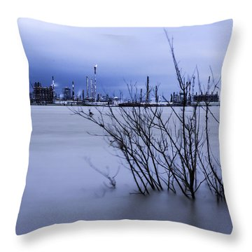 Industry In Color Throw Pillow