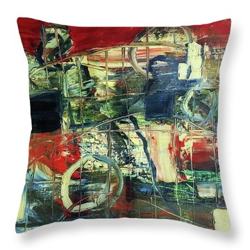 Indy 500 Throw Pillow