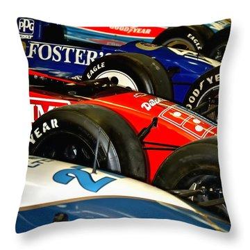 Indy Past 21170 Throw Pillow