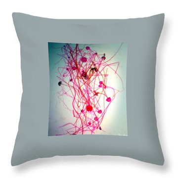 Infectious Ideas Throw Pillow