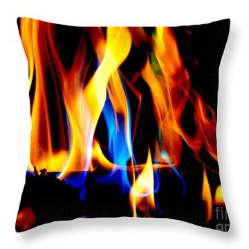 Inferno IIi Throw Pillow