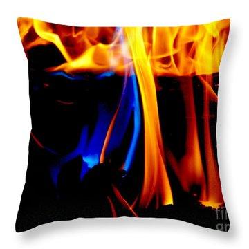 Inferno Iv Throw Pillow