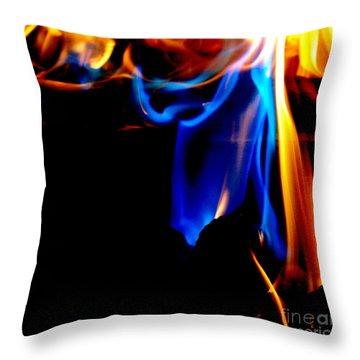 Inferno V Throw Pillow