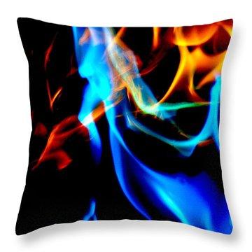 Inferno Xii Throw Pillow
