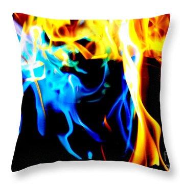 Inferno Xiii Throw Pillow