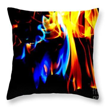 Inferno Viii Throw Pillow