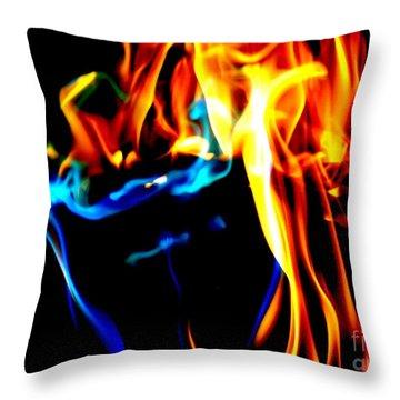 Inferno Xiv Throw Pillow