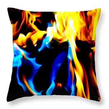 Inferno Xv Throw Pillow