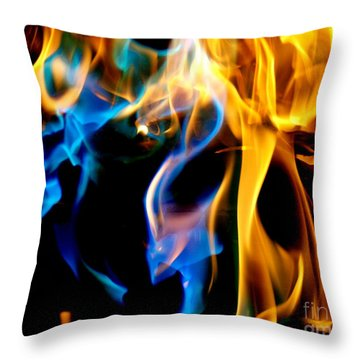 Inferno Xvi Throw Pillow