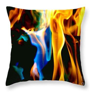 Inferno Xvii Throw Pillow