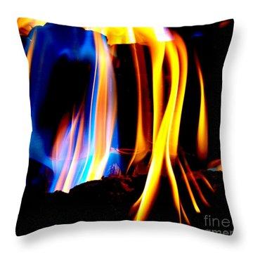 Inferno Xviii Throw Pillow