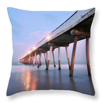 Infinite Bridge Throw Pillow